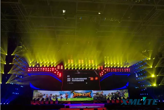 XMlite 17R moving head beam light 120PCS  USED IN SHENZHEN PERFORMANCE.