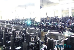 XM moving head light production line